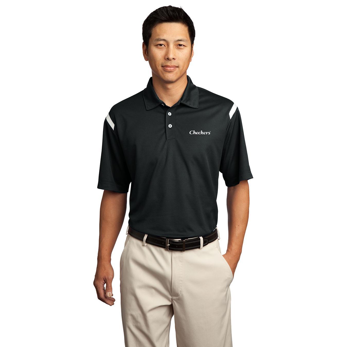 Nike 174 Men S Dri Fit Shoulder Stripe Polo
